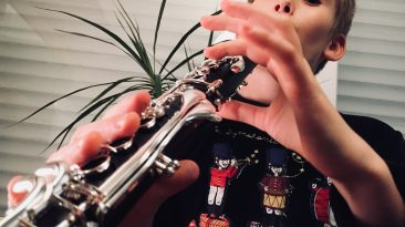 Louis et sa clarinette