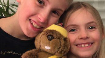 Notre mascotte Loulou la marmotte