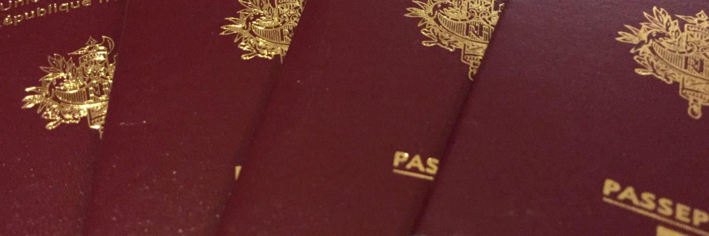 Nos passeports pour le Tour du Monde en famille