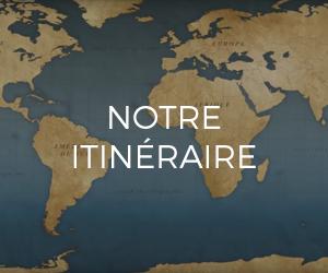 Itinéraire de notre voyage en famille autour du monde