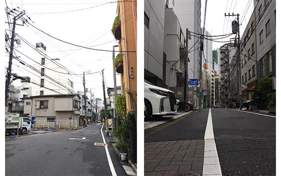 rues Nishiazabu Tokyo