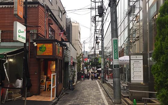 tokyo Omote Sando ruelle