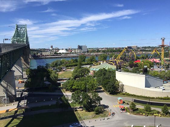 pont jacques cartier montreal
