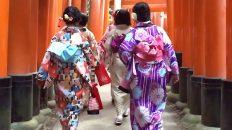 kyoto geisha Fushimi Inari torii