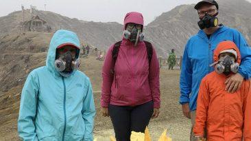 kawai ijen volcan souffre enfer indonesie java bali