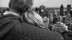 Vue de Montréal par Les Loulous depuis le Mont Royal